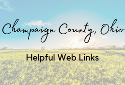Champaign County Ohio Links