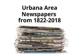 Urbana Area Newspapers