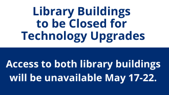 closing of library buildings